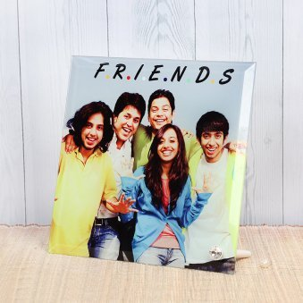 Friends Forever - Personalised Photo Frame for Friend