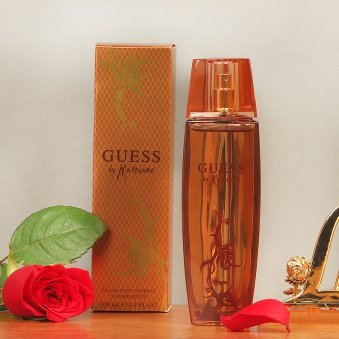 Combo of Guess Marciano Perfume and Love Card