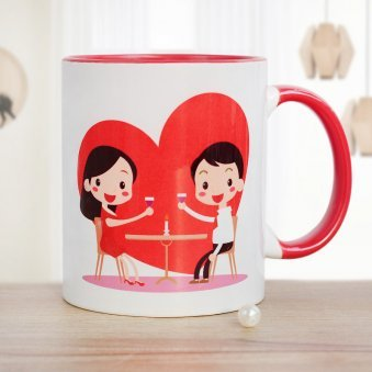Greatest Refreshment In Life Mug with Front Sided View