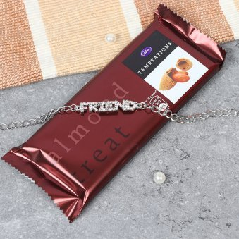 Chocolate and Friendship Band Gift Combo
