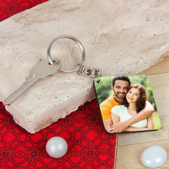 Personalised Keychain For Couple