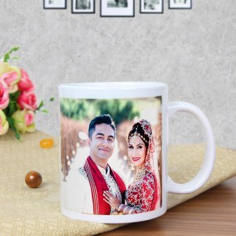 Love Reloaded - A Customised Anniversary Mug with Front View