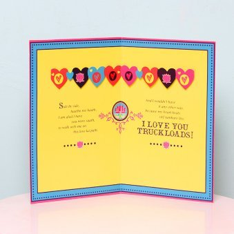Love ok Please Card in Opened View