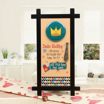 Dear Hubby Quotation Table Stand
