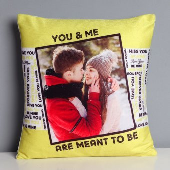 Match Made in Heaven Personalised Cushion