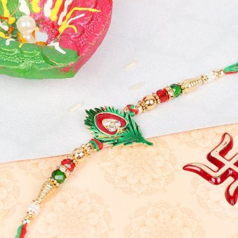 Mayur Pankh Rakhi - A Peacock Rakhi for Bhai