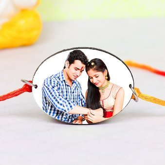 Meticulous Personalised Rakhi - Personalised Rakhi for Brother