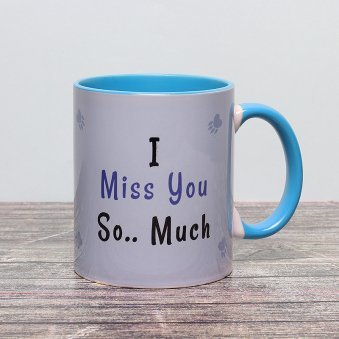 Miss You Panda Printed Mug