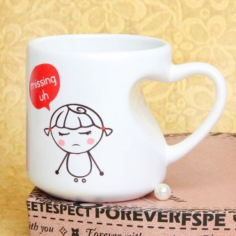 Missing uh Mug with Right Sided View