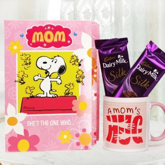 Motherly Hug - A Mothers Day Combo Gift for Your Mother