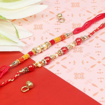 Never Ending Bond - Pair of Two Designer Rakhis