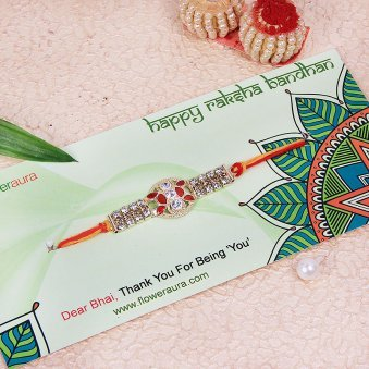 The Golden Promise Rakhi