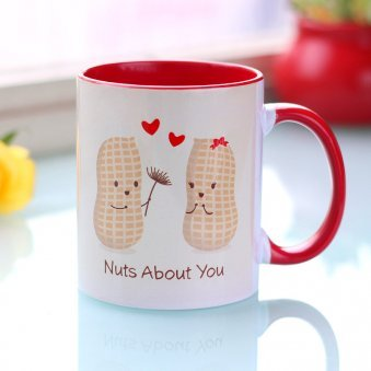 Love Nuts Printed Mug