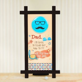 A Printed Table Stand for Dad