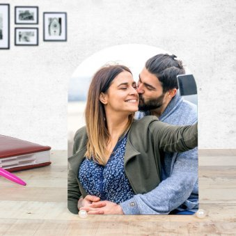 Perpetual Love - Customised Couple Photo Frame