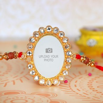 Personalized Photo Rakhi - Rakhi for Brother