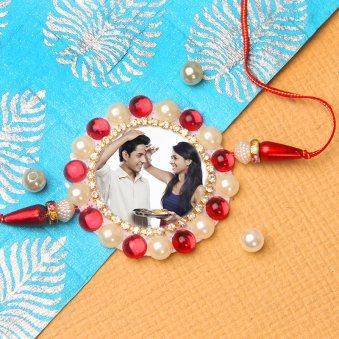 Sacred Emotion - Customised Rakhi for Brother