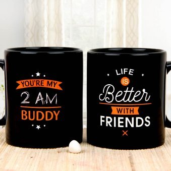 Smile Forever Friendship Day Mug