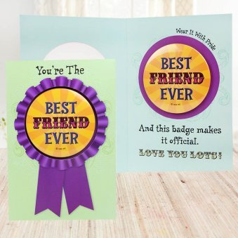 Smile Forever Friendship Day Card
