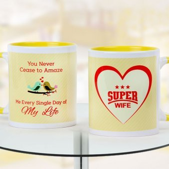 Super wife duotone Mug