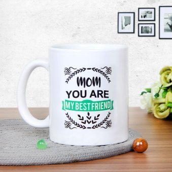 The Mom Moments Mug with Back Sided View