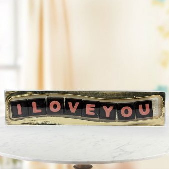 Three Special Words Valentine Gift for Him