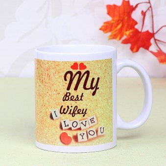 My Best Wife Mug with Front View