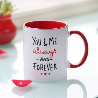 You And Me Forever Printed Mug