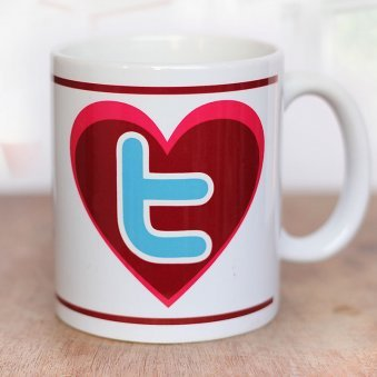 4 #tag quoted Twitter Mug