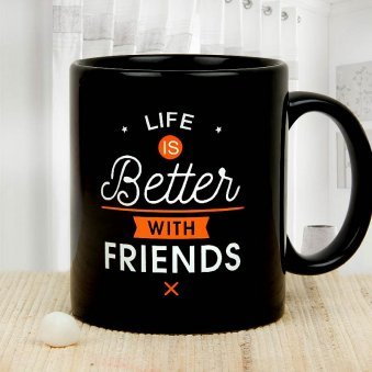 Vow of Friendship Friendship Day Mug