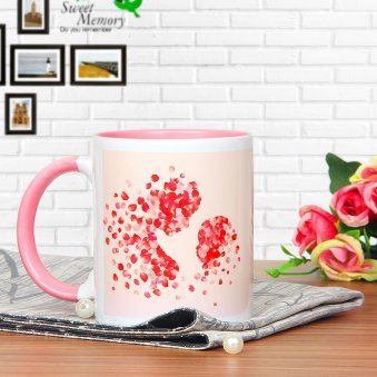 Without You Mom - A Beautiful Mug with Mom and Daughter Printed