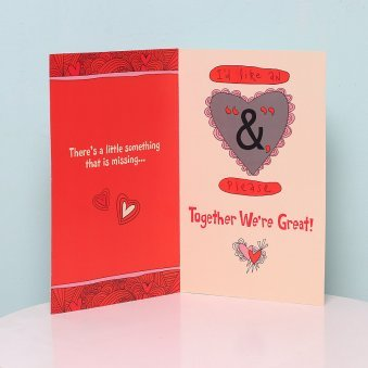 Combo of Teddy and Greeting Card