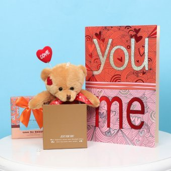 You & Me Greetings Valentine Gift for Her