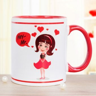 You Bring Me Smile Printed Mug with Front Sided View