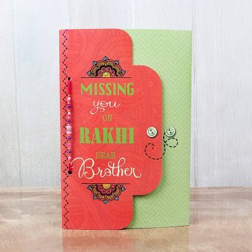 Missing You Bro Card for Brother