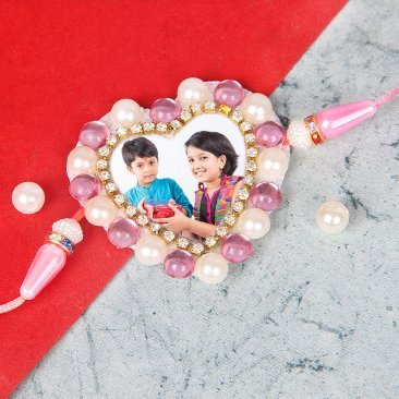 Sharing Siblinghood - Personalised Rakhi for Brother