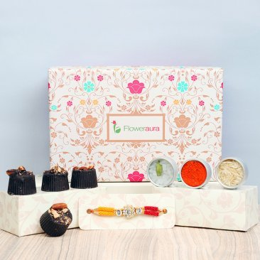 Unbox Rakhi Happiness - A Rakhi Signature Box